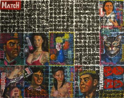 DA ZI BAO | Acrylique sur papier | 175x135cm